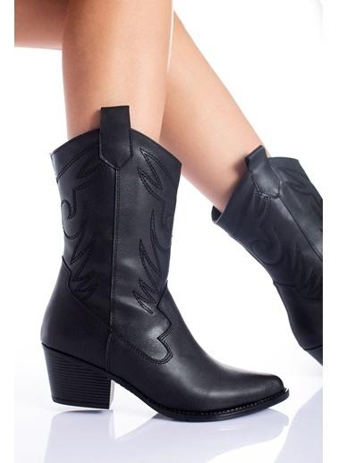 MODAGON Çizme Siyah